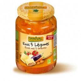 Raviolis legumes 670g danival