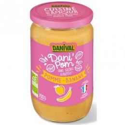 Danipomme banane 700g danival