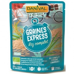 Riz complet express 250g...