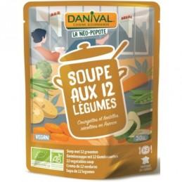 Soupe 12 legumes 50cl danival