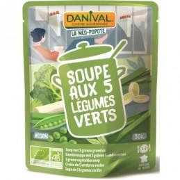 Soupe legumes verts 50cl daniv