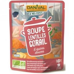 Soupe lentille corail...