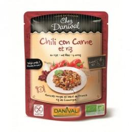 Chili con carne et riz 250g...
