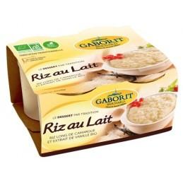 Riz au lait 4x140g gaborit