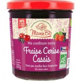 Confiture fraise cerise...