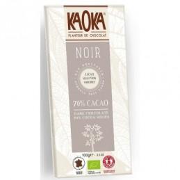 Chocolat noir 70% cacao100g k