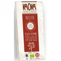 Chocolat noir 75% cacao...
