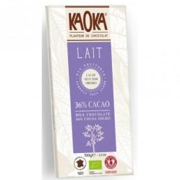 Chocolat au lait 100g milk kao