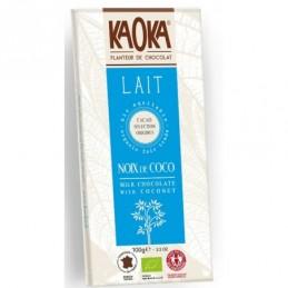 Chocolat lait noix coco...