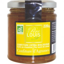 Confiture 3 agrumes 220g...