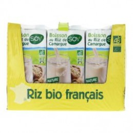 Biosoy riz complet    6x1l soy