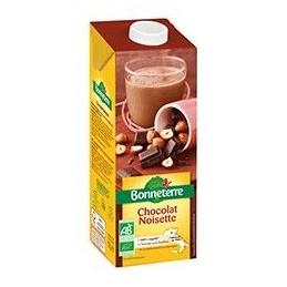 Boisson chocolat noisette...