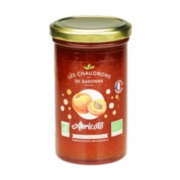 Confiture abricot chaudrons...