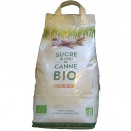 Sucre canne blond kg