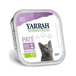 Pate chat poulet dinde 100g ya
