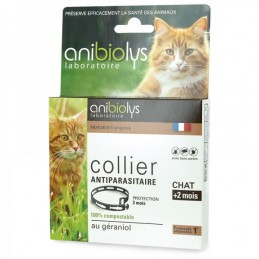 Collier antiparas chat anibio