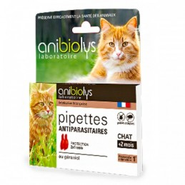 Pipette antiparas chat mois...