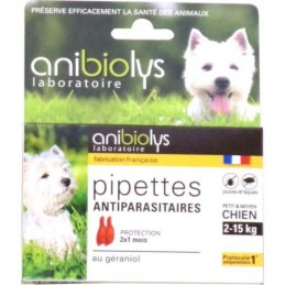 Pipettes antiparas chien...