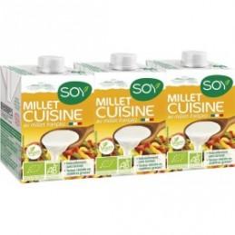 Millet cuisine 3 X20cl soy
