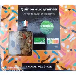 Salade quinoa  aux graines...