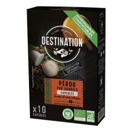 Cafe capsule perou destination