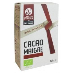 Cacao maigre 125g artisan...