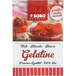 Gelatine poudre 9g sobo