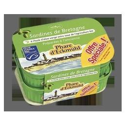 Lot sardines huile olive xg...