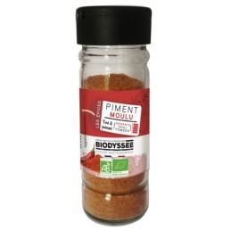 Piment poudre 40g biodyssee