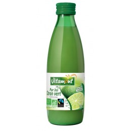 Jus de citron vert 25cl vitamo