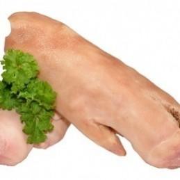 Pieds de porc cuits piece