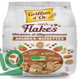 Flakes amande noisette 325g...
