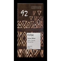 Chocolat noir 92% cacao...