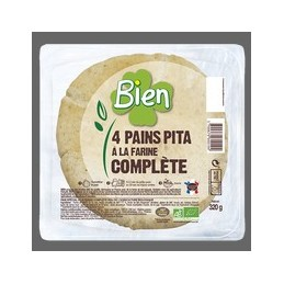 Pain pita farine complete bien