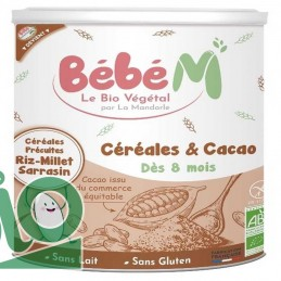 CErEales cacao 400g bEbE m