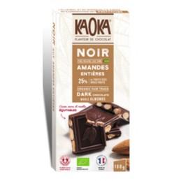 Chocolat noir  amande...