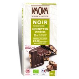 Chocolat noir noisette...