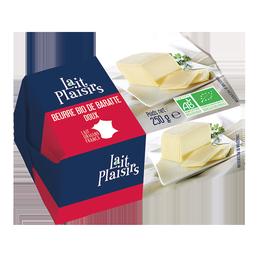 Beurre baratte doux 250g lait